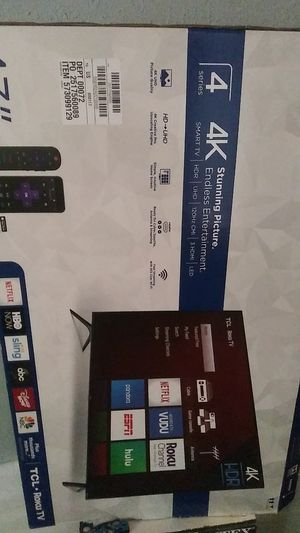 TCL Roku Tv for Sale in Tampa, FL