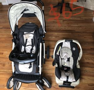 Grace stroller and car seat (lightly used) for Sale in Jersey City, NJ