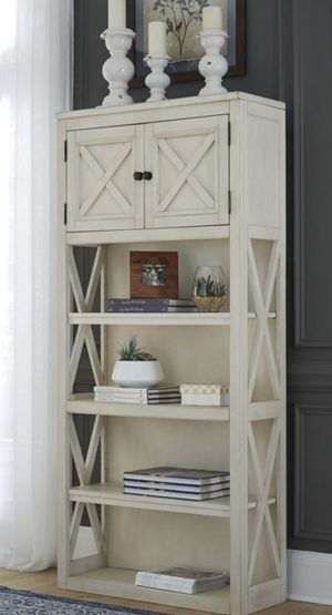 Bolanburg White/Oak Large Bookcase for Sale in Jessup, MD