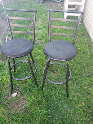 2 metal bar stool for Sale in Bridgeview, IL