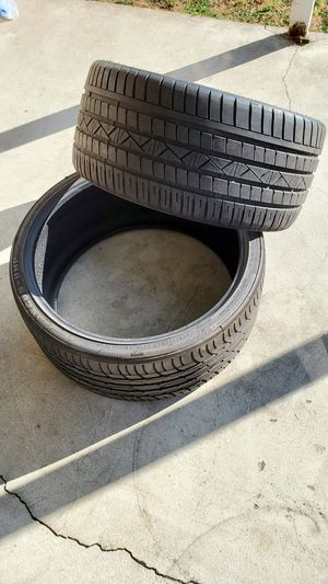 "22"" Tires (2) 245/30/22 and (2) 295/25/22 for Sale in Gardena, CA"