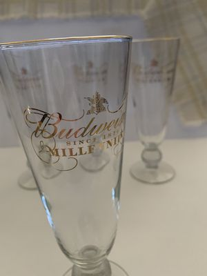 Budweiser Millennium Collectible Glasses for Sale in Murrieta, CA