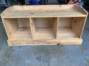 Wooden storage bench for Sale in Alexandria, VA