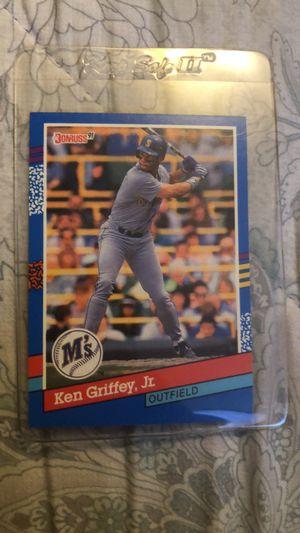 Baseball card Ken Griffey Jr. 1990 & 1991 for Sale in Fresno, CA