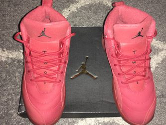 Air Jordan 12 Retro Gym Red Youth Size 3y Excellent Condition Only Worn Twice In Original Box Limited Edition for Sale in Sacramento,  CA