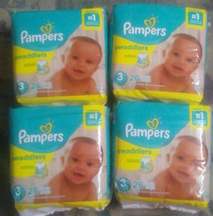 Pampers sz 3 for Sale in Warren, MI