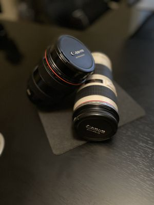 "Canon ""professional lenses "" for Sale in Lawrenceville, GA"