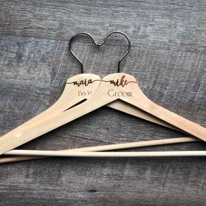 Personalized Bridesmaids Wood Hangers for Wedding for Sale in Schaumburg, IL