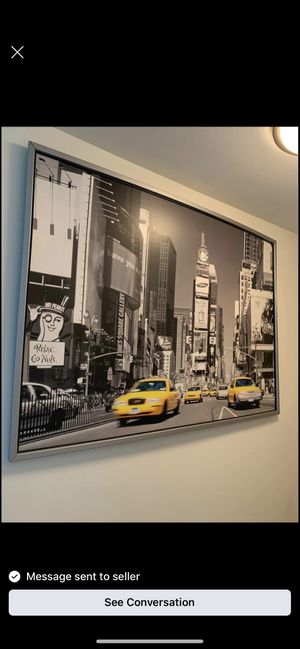 New york large frame for Sale in Somerville, MA