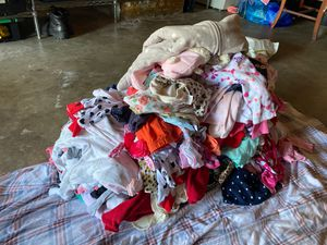 More and 100 pieces 0-12 months of baby girl clothes in good condition (carters, disney, cat and jack, Gymboree) for Sale in San Diego, CA