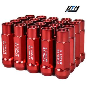 Godspeed 20pc Type 3-X Cold Forged Tuner Lug Nuts 12x1.5 Red for Sale in Rosemead, CA