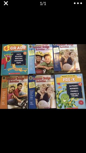 Summer bridge books $10 for all for Sale in Arvada, CO