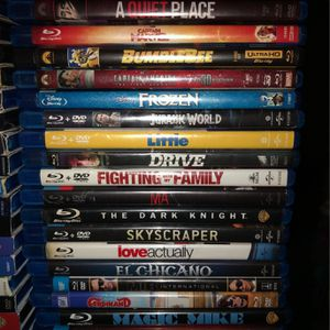 Blu-Ray & 4k Movies for Sale in Downey, CA