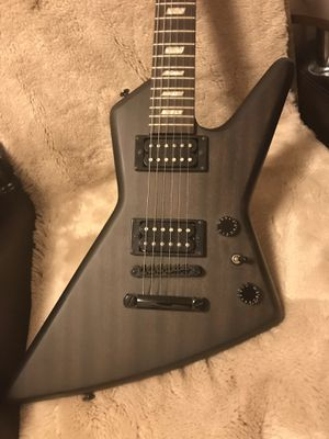 Epiphone gothic electric guitar for Sale in Brooklyn, NY