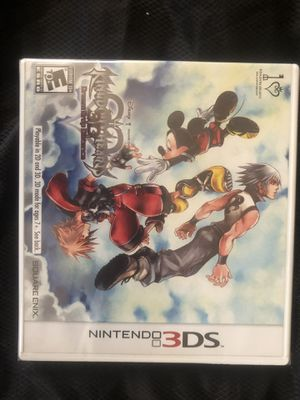Kingdom hearts 3ds new complete 3d dream drop distance for Sale in Modesto, CA