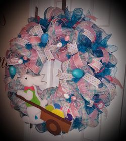 Easter Wreath. If It's Posted It's Available. for Sale in Winder,  GA