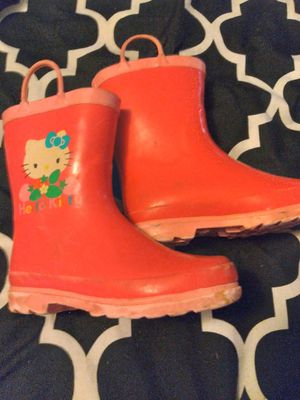 Girls rain boots 11/12 for Sale in San Diego, CA