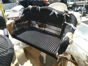Wicker porch swing for Sale in Fontana, CA