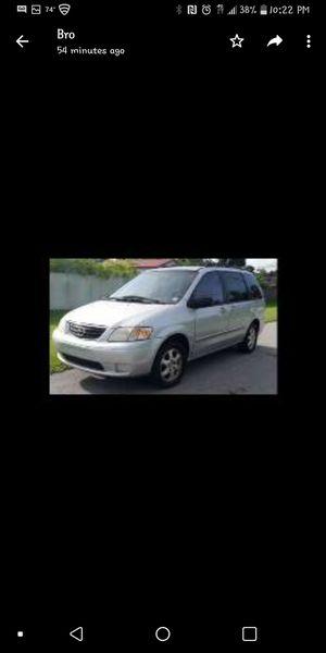 Mini Van Mazda 2000 for Sale in Fort Lauderdale, FL