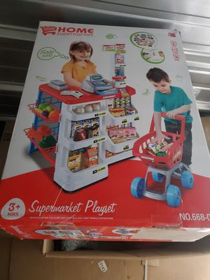 Supermarket game set for kids for Sale in Columbus, OH