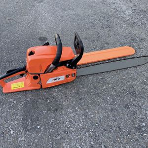 """PDTO 58cc 20"""" 2 Cycle Gas Powered Chainsaw for Sale in Ontario, CA"""
