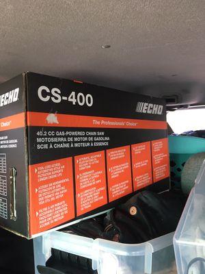 "Cs 400 echo chainsaw 18"" bar for Sale in Oklahoma City, OK"