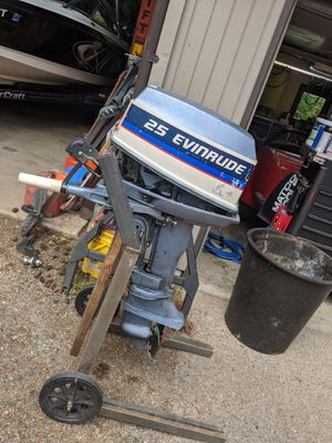 1974 Evinrude 25hp short shaft outboard for Sale in Tacoma, WA