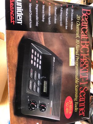 Uniden Bearcat Programable Scanner BC148XLT-1 for Sale in Manassas, VA