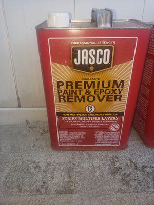 2 NEW Jasco premium paint and epoxy remover 2 NUEVOS jasco premium removedor de pintura y epoxi for Sale in Fontana, CA