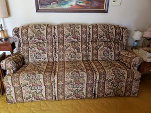 Couch with two recliners on either end for Sale in Warren, OH