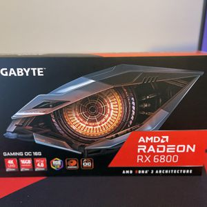 GIGABYTE Radeon RX 6800 GAMING OC 16G Graphics Card, WINDFORCE 3X Cooling System for Sale in Racine, WI