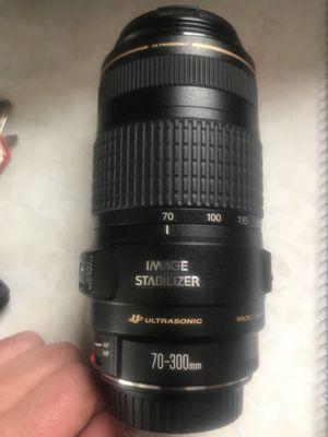 Canon Ultrasonic 70-300mm lens for Sale in Cheektowaga, NY