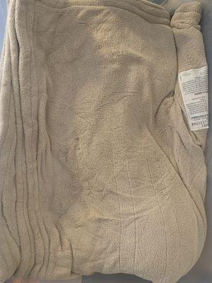 Beige electric blanket for Sale in Denver, CO