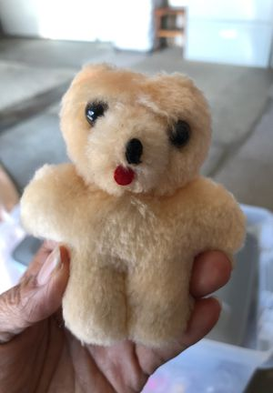 Miniature baby bear stuffed animal 25cents for Sale in Menifee, CA