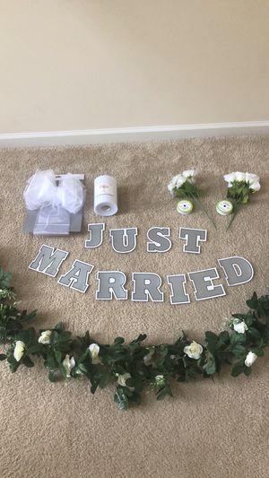 Wedding Car Decorations for Sale in Durham, NC