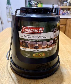 Coleman Propane Gas Lantern with Carrying Case for Sale in Milford Mill, MD