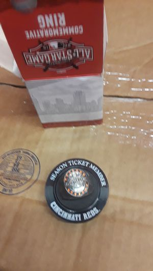 Season ticket member Cincinnati Reds ring for Sale in Covington, WA