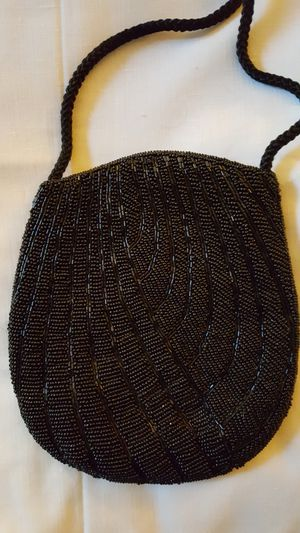 Vintage black beaded purse for Sale in Swatara, PA