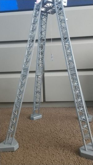 WWE Mattel money in the bank ladder match structure for Sale in Banning, CA