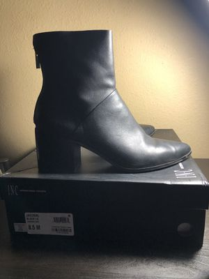 INC ankle boots women's 8.5 for Sale in Long Beach, CA