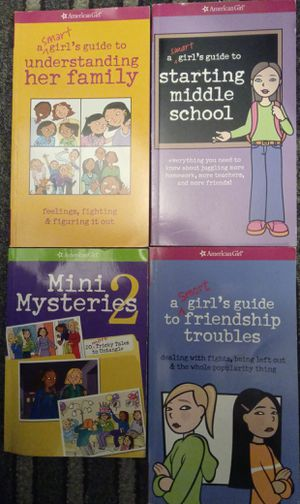 4 American Girl Middle School Drama & Two Mysteries in great used condition for Sale in Stockton, CA