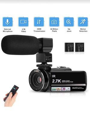 Video Camera Camcorder 2.7K for Sale in Philadelphia, PA