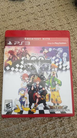 Kingdom Hearts 1.5 HD Remaster PS3 for Sale in Tracy, CA