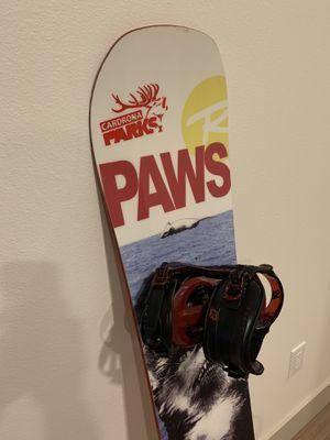 Rossignol Retox Amptek Snowboard 150cm + K2 Sonic Bindings(M) for Sale in Seattle, WA