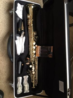 Soprano Sax never used I purchased it but I don't have the wind to play it for Sale in St. Petersburg, FL