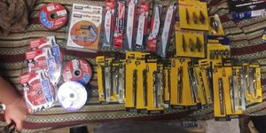 Assortment of drill bits and saw blades for Sale in San Jose, CA