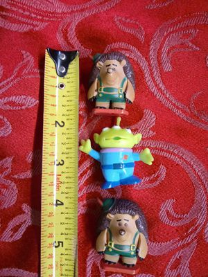 $7 Toy Story Collectible Figures Mr.Pricklepants and Alien for Sale in Hemet, CA