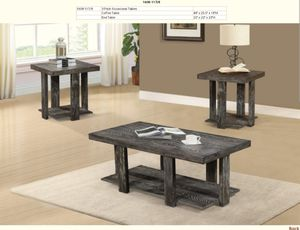 3pc Antique finish tables for Sale in Puyallup, WA