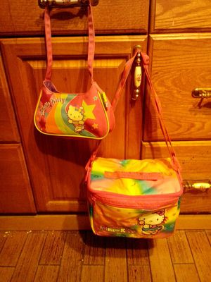 Hello kitty,, bag and purse for Sale in Dallas, TX