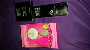 Makeup Forever Fondation, Contour/Highlight Duo and The Original Beauty Blender for Sale in Red Oak, TX